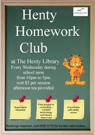 after school study write about something that s important homework club help in after