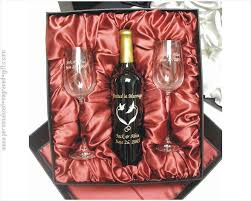 wine set gifts engraved wine bottle wine glass gift sets