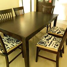Dining Chair Cushions With Ties  Adocumparonecom - Indoor dining room chair cushions