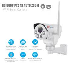 ptz ctronics wireless ptz bullet wifi ip camera hd 960p 40m ir 4x