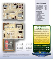 Color Floor Plan Olthof Homes House Plans U0026 Floor Plans For Riverton In