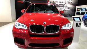 Bmw X5 Red - 2013 bmw x5 m exterior and interior walkaround 2013 salon de l