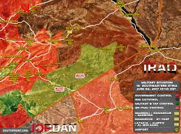 Military Bases In United States Map by Military Situation In Southeastern Syria On June 6 2017 Map Update