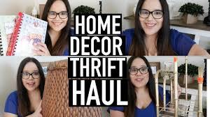 January Home Decor by Thrift Haul Home Decor Goodwill January 2017 Youtube