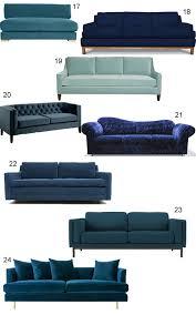 shop 43 blue velvet sofas