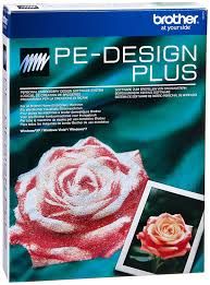 brother pe design plus embroidery software german amazon co uk