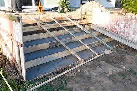 treppe betonieren betonieren der terrassentreppe erster teil mission wohn t raum