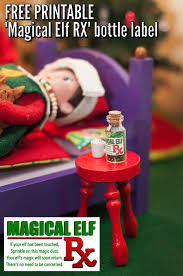 the sick touched elf prescription bottles elves and craft stores