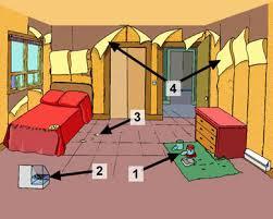 humidité dans chambre causes et signes