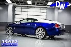 rolls royce wraith blue mario williams rolls royce wraith u2014 dreamworks motorsports