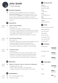 us resume template 20 resume templates create your resume in 5 minutes