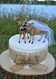 buck and doe cake topper doe and buck cake topper deer wedding cake topper
