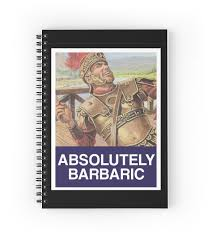Obey Meme - absolutely barbaric meme obey spiral notebooks by gsuschrist
