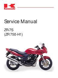 werkstatthandbuch kawasaki zr 7 s zr 750 h1 german