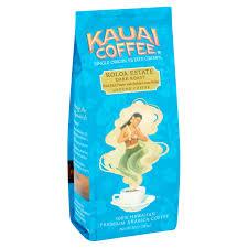 kauai coffee koloa estate dark roast hawaiian ground coffee 10 0