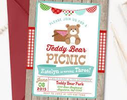 picnic birthday invitation picnic invitation red gingham