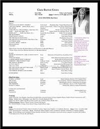 Talent Resume Click Here To Download Dans Resume As A Pdf Acting Resume