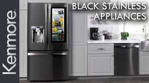 stainless steel kitchen appliances new kenmore black stainless steel kitchen appliances youtube