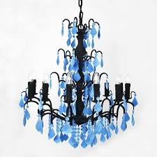 chandelier magnets flocked jasmine chandelier by thomas u0026 vines notonthehighstreet com