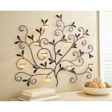 better homes and gardens wall decor better homes and gardens tree votive sconce oil rubbed bronze