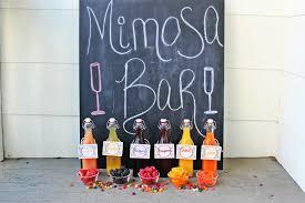 diy mimosa bar beautiful booze