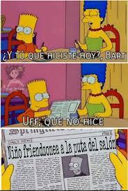 Bart Simpson Meme - gracias por see un h礬roe bart meme subido por khe productions