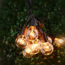 aliexpress com buy g40 string lights with 25 g40 clear globe