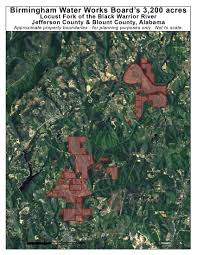 Jefferson County Tax Map Black Warrior Riverkeeper Locust Fork Forever Wild Nomination