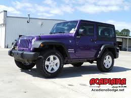 rubicon jeep blue jeep wrangler in lafayette la acadiana dodge chrysler jeep ram