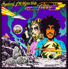 western photo album thin lizzy vagabonds of the western world album cover
