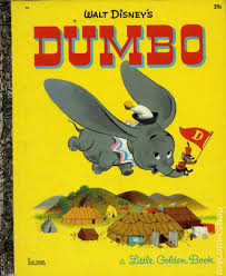 dumbo hc 1941 golden press a golden book comic books