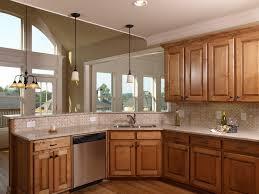 oak kitchen ideas beautiful kitchen color schemes with oak cabinets desjar