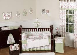 Floral Crib Bedding Sets Sweet Jojo Designs Bedding Sets S Roses Pink And Green