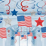 4th of july decorations partyworld