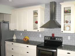 black subway tile kitchen backsplash kitchen gray glass subway tile backsplash in kitchen