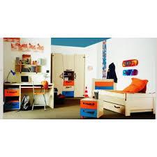 gautier chambre chambre gautier enfant ado bleu et orange achat et vente