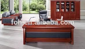 bureau massif moderne acajou bois massif bureau bureau moderne et élégant mobilier de