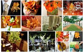 fall wedding color schemes jpg