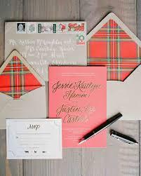 25 unexpected winter wedding invitations martha stewart weddings