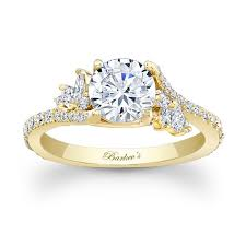 engagement ring gold best yellow gold engagement rings engagement rings depot