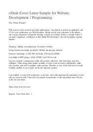 web developer cover letter efficiencyexperts us
