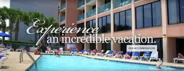Cabana Shores Hotel Myrtle Beach Your Myrtle Beach Hotel Sandcastle Oceanfront Resort South Beach