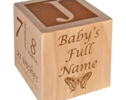 engravable baby gifts personalized baby block new baby gift newborn baby gift