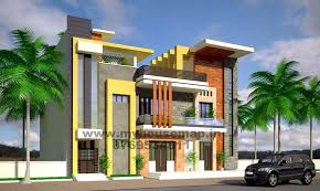 Row House Front Elevation - modern elevation bungalow design front elevation design house