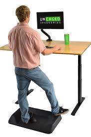 Standing Desk Active Desk Mat Non Flat Anti Fatigue Mat Standing Desk Floor