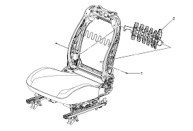 repair instructions driver or passenger seat lumbar support
