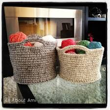 20 basket 23 free u0026easy crochet baskets patterns