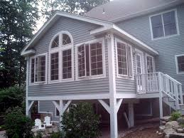 Home Addition Design Sunroom Additions Plans Exterior Of Sunroom Addition Designed