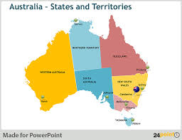 territories of australia map map of australia and new zealand states and major cities editable