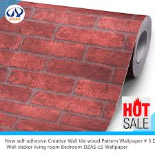 wall ls in bedroom new self adhesive creative wall tile wood pattern wallpaper 3 d